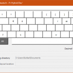 Keyboard Layout Preview